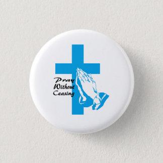 Beten Sie Knopf Runder Button 3,2 Cm