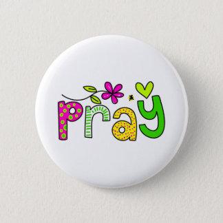 Beten Sie Runder Button 5,1 Cm
