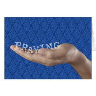BETENDE, religiöse Unterstützung u. Ermutigung Karte