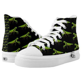 Betender Mantis-hohe Spitzenschuhe Hoch-geschnittene Sneaker