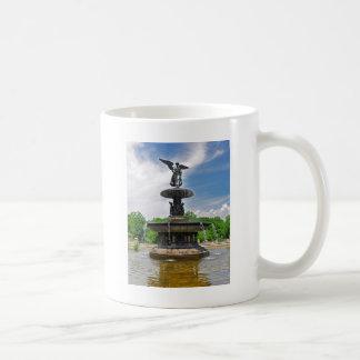 "Bethesda ""Engel des Wassers"" Central Park, NYC Kaffeetasse"