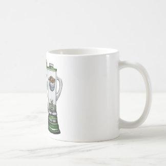 Betonte Puffer-Fische Kaffeetasse