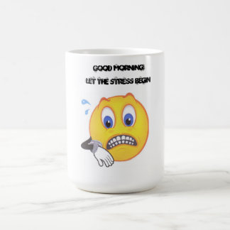 Betonte smiley-Kaffee-Tasse Tasse