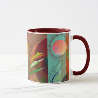 Betrachten der Mond-Tasse Tasse
