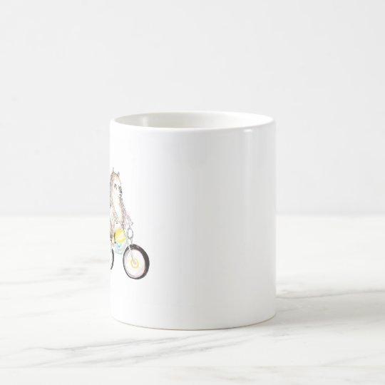 betreffen Sie Fahrrad Tasse