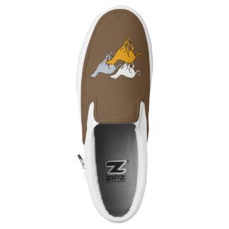 Betrieb drei Slip-On sneaker