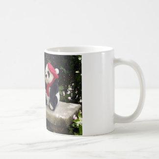 Betrifft die Bank Kaffeetasse