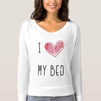 Bett-Liebhaber pijama Spitze T-shirt