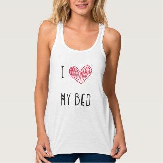 Bett-Liebhaber-Trägershirt pijama Tank Top