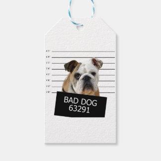 Betthund - Bulldogge Geschenkanhänger