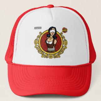 Betty - was das Problem Red Hat ist Truckerkappe
