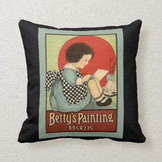 Bettys Malerei-Buch Kissen