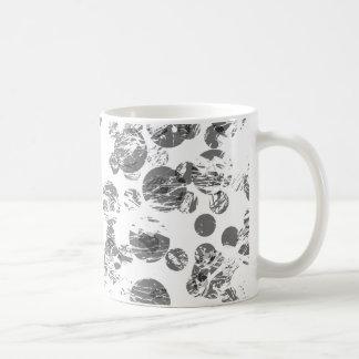 Beunruhigtes Fleck-Muster Kaffeetasse