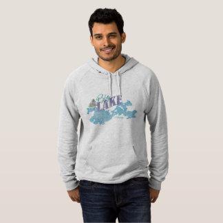 Beunruhigtes großes See-Alaska-Sweatshirt oder Hoodie
