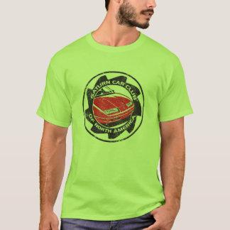 Beunruhigtes SCCNA zeichnete grünen T - Shirt auf