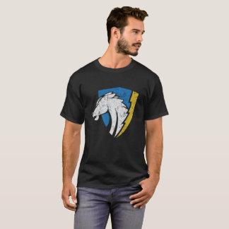 Beunruhigtes Vintages Logo-Shirt der Ladegeräte T-Shirt