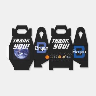 Bevorzugungs-Kasten-Planeten, Weltraum, Erde Geschenkschachtel