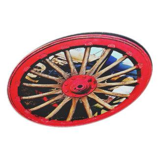 Bewaffnete Rad-Platte Flacher Teller