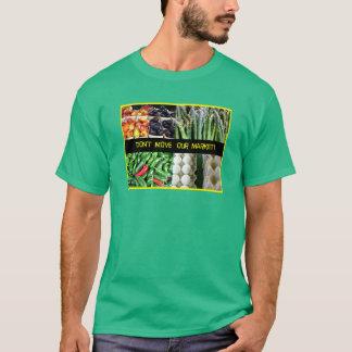 Bewegen Sie nicht den Markt der Feuerstein-Bauern! T-Shirt
