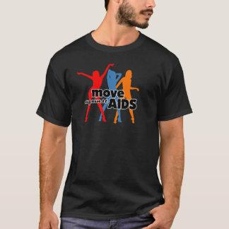 Bewegen Sie sich gegen AIDS T-Shirt