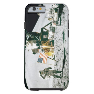 "Beweglicher Fall: Mann auf dem Mond "" Tough iPhone 6 Hülle"