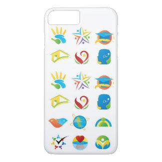 Beweglicher unterscheidender attraktiver Entwurf iPhone 8 Plus/7 Plus Hülle