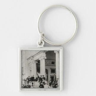 Bewohner des Landhauses Medici in Rom Schlüsselanhänger