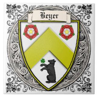 Beyer (die Schweiz/Sachsen) Familie bewaffnet Fliese