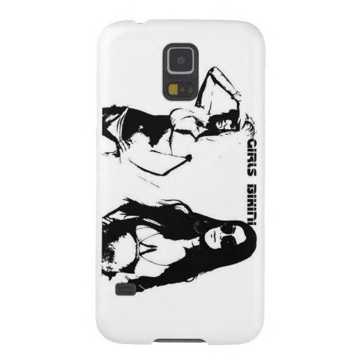 Bezaubernde Bikinimädchen Galaxy S5 Hüllen
