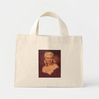 Bezaubernde blonde Tasche