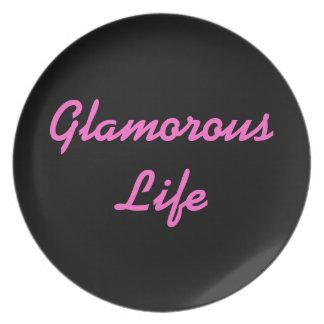 Bezaubernde Leben-Platte Party Teller