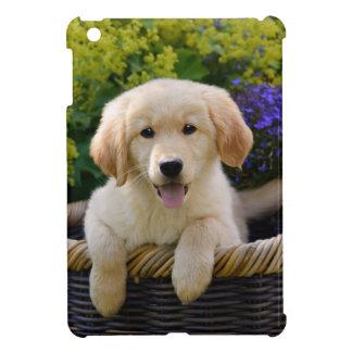 Bezaubernder Goldie Hundewelpe, Tabletteabdeckung iPad Mini Hülle