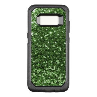 Bezaubernder grüner Imitat-Glitter-Spaß-Druck OtterBox Commuter Samsung Galaxy S8 Hülle