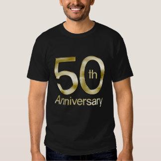 Bezaubernder Jahrestag des Gold50. Shirts