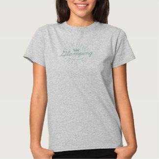 Bezauberndes Campings-Vintage Hemd