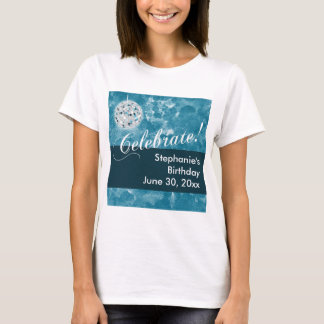 Bezauberndes Disco-Ball-Geburtstags-Party T-Shirt