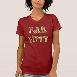 Bezauberndes Gold tolle fünfzig Shirts