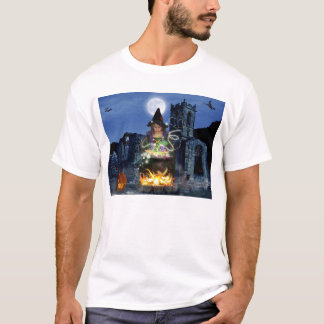 Bezauberndes Halloween-T-Stück T-Shirt