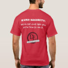 Bezirk-Sicherheits-T - Shirt