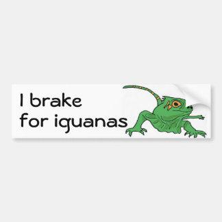 BH, I Bremse für Leguan-Autoaufkleber Autoaufkleber