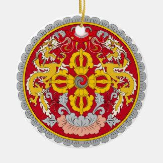 BHUTAN*-, kundenspezifische Weihnachtsverzierung Keramik Ornament
