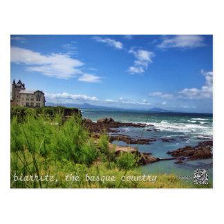 Biarritz, das Baskenland Postkarte