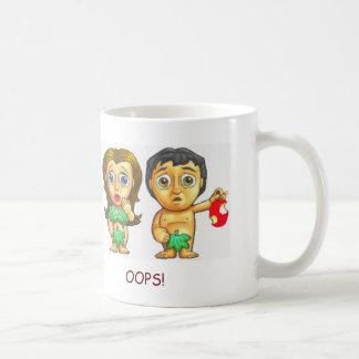 Bibel-Geschichten-Tasse Adams und Eves niedliche Tasse