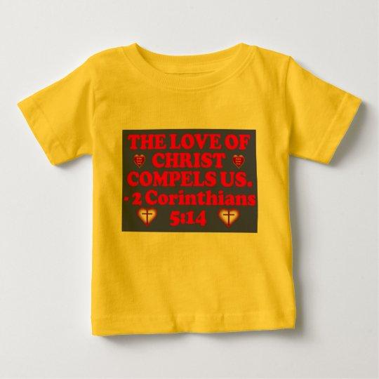 Bibel-Vers von 2 Korinther-5:14. Baby T-shirt