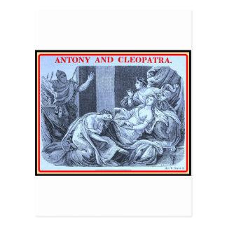 Bibliomania: Shakespeare - Antony und Kleopatra Postkarte
