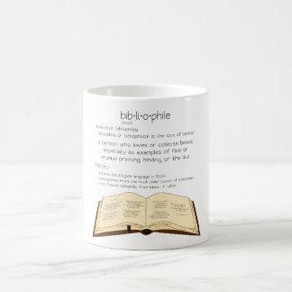 Bibliophile Kaffeetasse