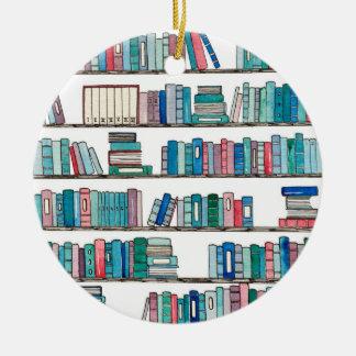 Bibliotheks-Verzierung Keramik Ornament