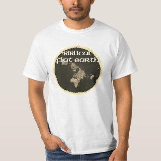 Biblische flache Erde T-Shirt