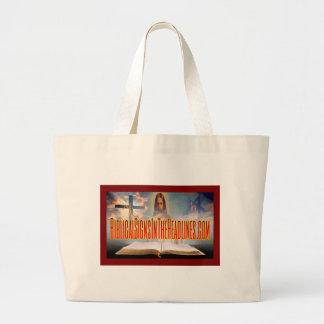 Biblische Zeichen-große Taschen-Tasche Jumbo Stoffbeutel