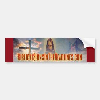 Biblischer Autoaufkleber der Zeichen-ITH